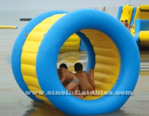 giant pool inflatable water roller game