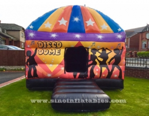 square disco dome bouncy castle