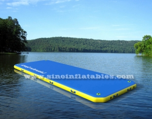 floating platform inflatable walkway