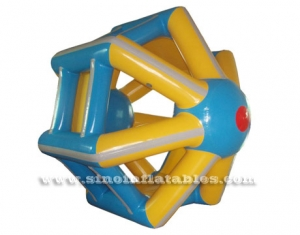 China inflatable water wheel sport game
