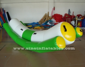 2 person inflatable seesaw water toys