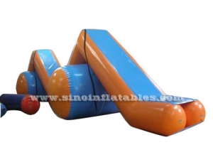 heat welded roller coaster inflatable slide slope