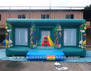 indoor kids jungle inflatable jumping castle