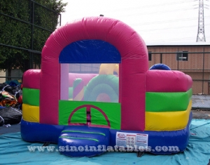 toddler kids inflatable fun park with obstacle courses