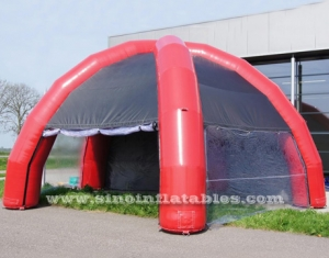 5 legs outdoor movable inflatable camping tent