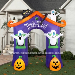 Halloween Haunted House inflatable Archway