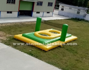 inflatable bossaball court