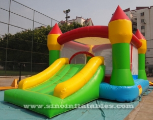 indoor inflatable toddler bouncy castle with slide