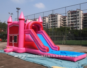 rose inflatable water combo with panel frame