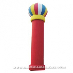 giant inflatable red column