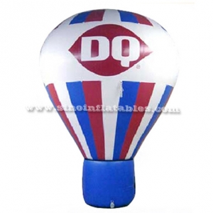 advertising DQ inflatable ground balloon
