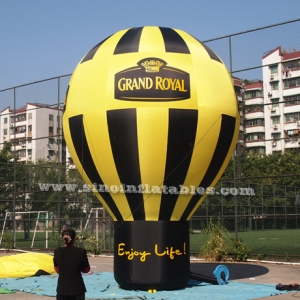 Grand Royal advertising inflatable roof top balloon