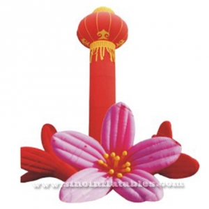 Red Chinese Lantern inflatable column