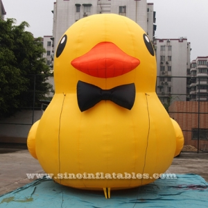 giant inflatable yellow duck for advertising
