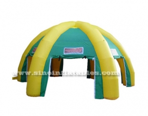 outdoor trip inflatable tent