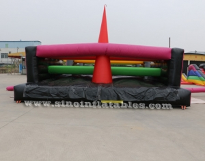 crazy tangled up adults inflatable obstacle course