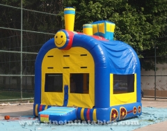 kids Thomas train bounce house