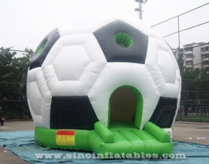 football shape kids inflatable bouncy castle