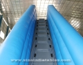 big inflatable jump air bag with cliff platform
