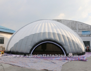15 meters dia. giant inflatable dome tent