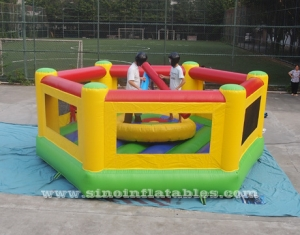 inflatable gladiator joust arena with joust poles