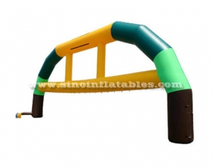 Colorful commercial inflatable arch