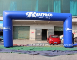 Roma advertising inflatable arch
