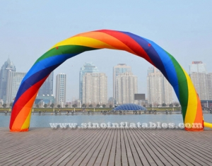 advertising inflatable rainbow arch