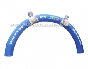 outdoor commercial inflatable arch
