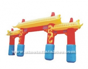 Custom made commercial inflatable archway