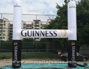 outdoor Guinness inflatable advertising arch
