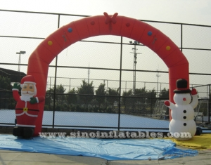 advertising Inflatable Christmas arch