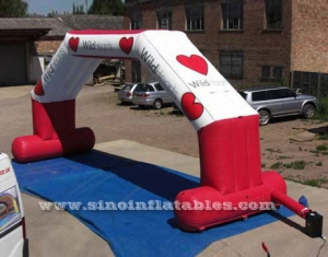 inflatable wedding party arch