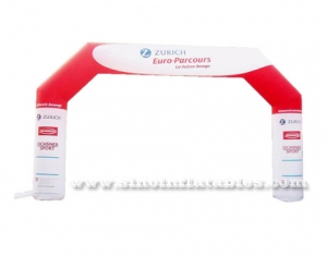 Pop outdoor inflatable archway