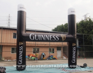 big Guinness advertising inflatable arch