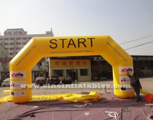 custom inflatable start line arch