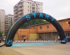 Start N Finish advertising inflatable arch