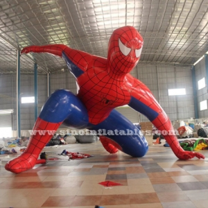 giant advertising inflatable spiderman