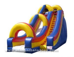 28' high giant inflatable slide