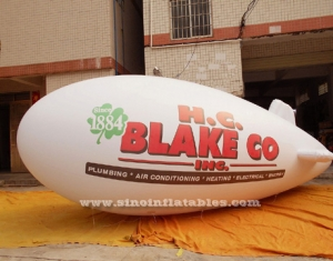 long inflatable helium airship