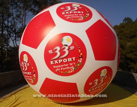 big football advertising inflatable helium balloon