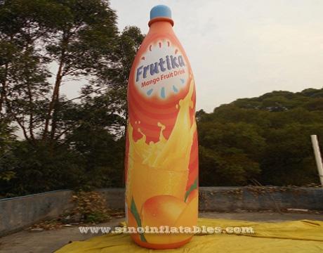 Custom size giant inflatable beer bottle with full digital