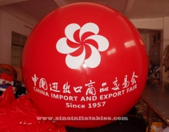 China Fair advertising inflatable helium balloon