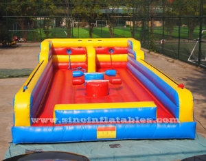 kids N adults interactive inflatable bungee run