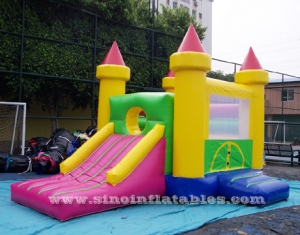 toddler inflatable bouncy castle with slide