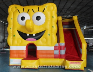 kids spongebob inflatable bouncy castle