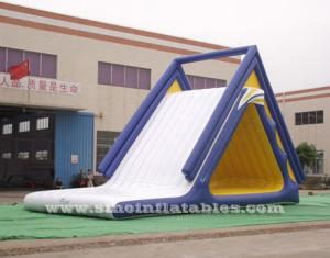 kids N adults giant inflatable floating slide