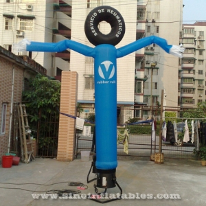 advertising tyre inflatable windy man