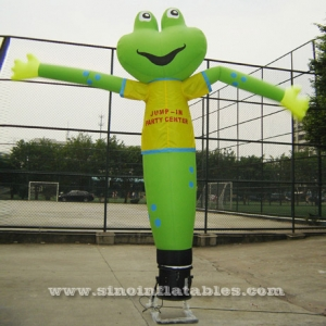 green frog inflatable dancing man