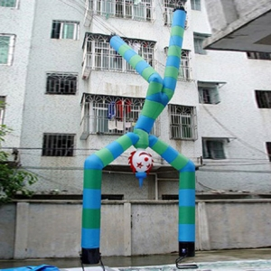 upside-down clown inflatable sky dancer